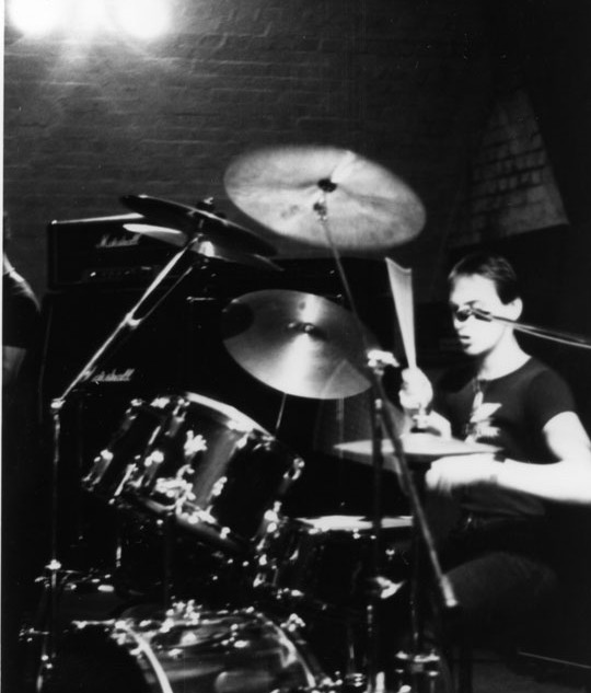 Steve Taylor at a rehearsal