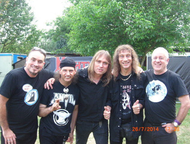With Anvil at H.O.A.