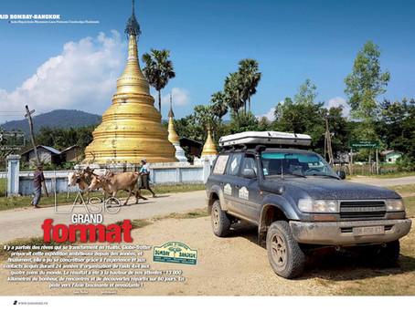 Reportage Bombay-Bangkok (Génération 4x4 Magazine N°48)