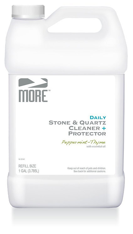 MORE™ Stone & Quartz Cleaner + Protector 1 Gallon