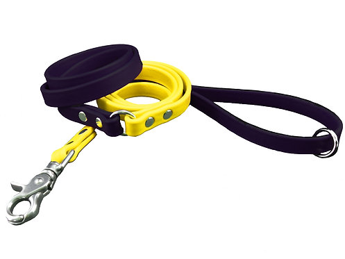 4' KPETS BLACK & YELLOW LEASH