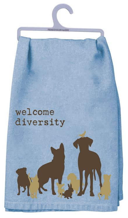 Dish Towel - WELCOME DIVERSITY