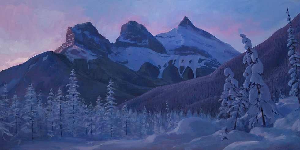 """Three Sisters, Chilling - 20x40"""""""