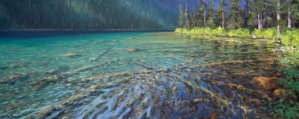 Boom Lake Shallows - Print