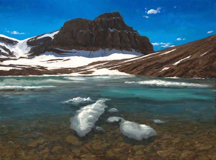 Mistaya Mountain Tarns 18x24""