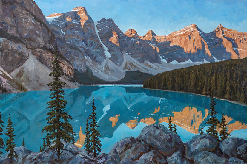 Moraine Lake Dawn - Print