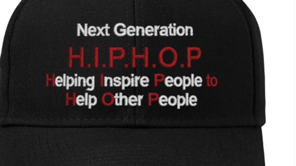 Next Gen Helping People Inspire Blk Hat