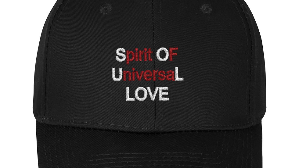 SOUL Spirit Of Universal Love BLK Hat