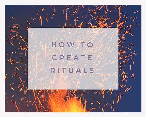 Design Your Own Ritual.