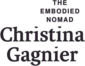 ChristinaGagnier_EmbodiedNomad_Wordmarks
