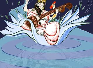 Saraswati- Goddess of Inspired Creativity