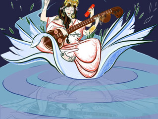 Saraswati- Goddess of Inspired Creativity