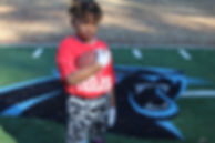 8 Year Old Elijah Brown. QB, RB & WR