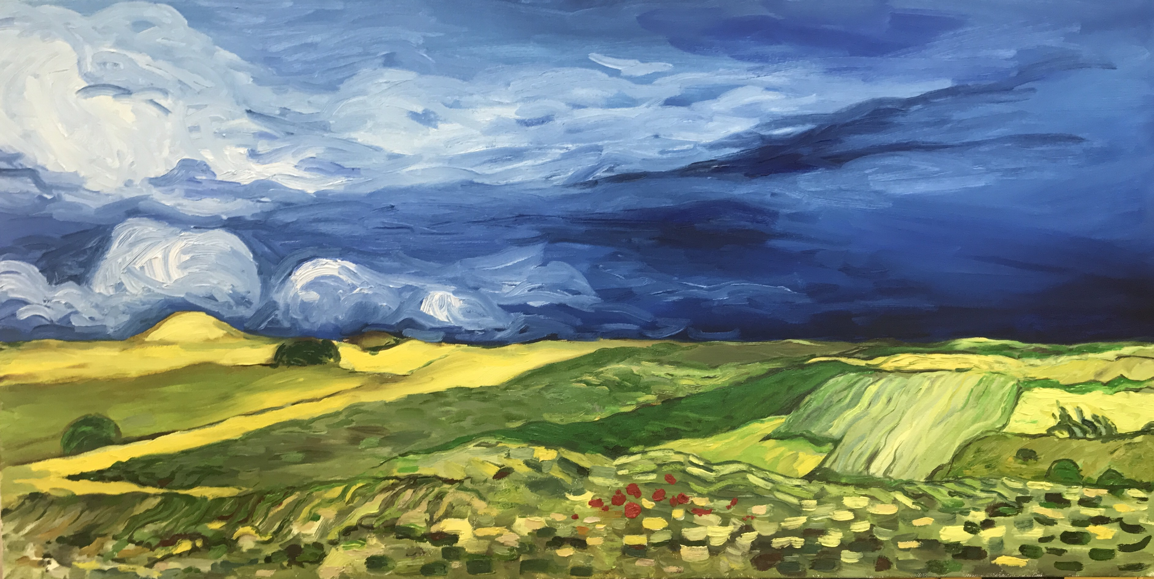Fields (after Van Gogh)