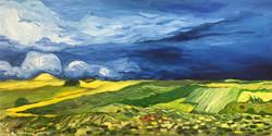 Fields (after Van Gogh)