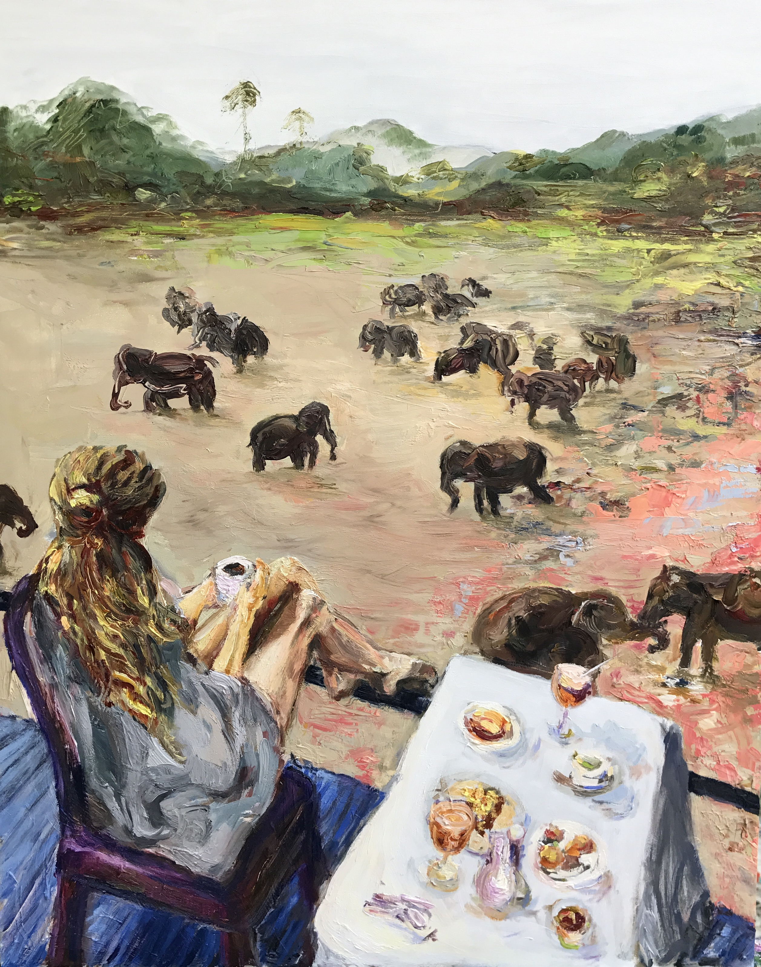 Coffee with the Elephants