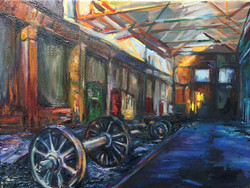 Abandoned Train Factory