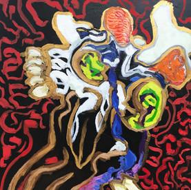 goat skull #4