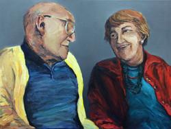 Rhoda Goldman Couple