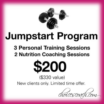 Limited Time Offer on Personal Training & Nutrition Coaching