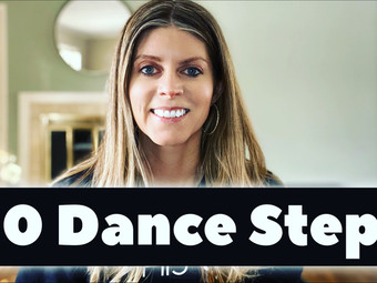 60 Basic Dance Steps for Fitness Cardio Choreography