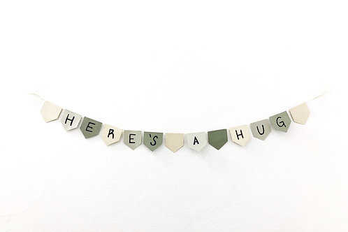 Send a Hug Banner - 100% of profit to the organization of your choice.