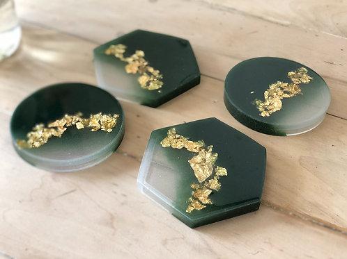 Epoxy-Resin Coasters