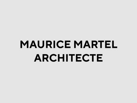 MAURICE MARTEL ARCHITECTE