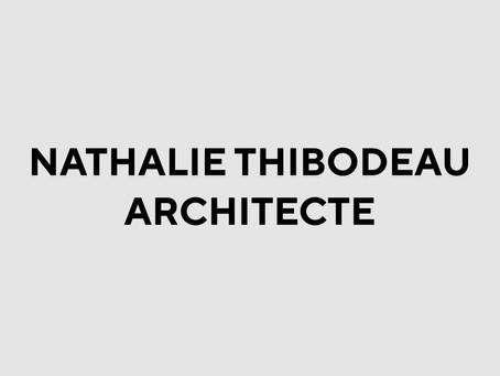 NATHALIE THIBODEAU ARCHITECTE