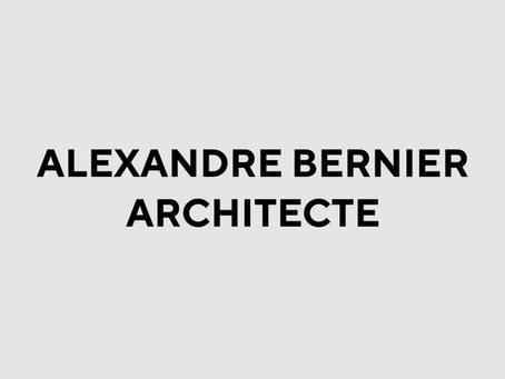 Alexandre Bernier Architecte