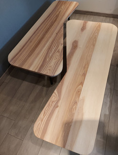 Tables basses style 70's