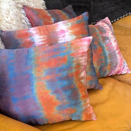 Sunrise in Stok Silk Pillows (Pair)