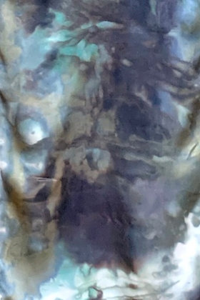Moonlit Bay Charmeuse Silk Scarf