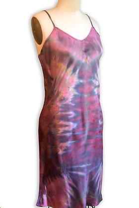Aphrodite's Swan Silk Slip Dress