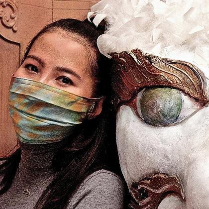 Tara of the Autumn Moon Silk Mask