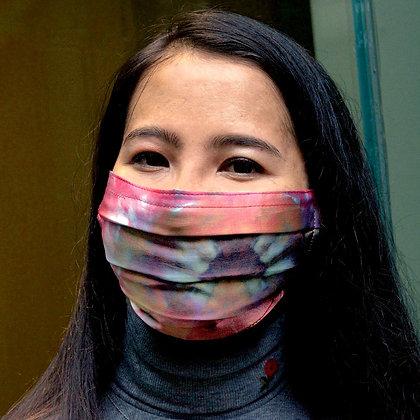 Pink Lotus Silk Mask