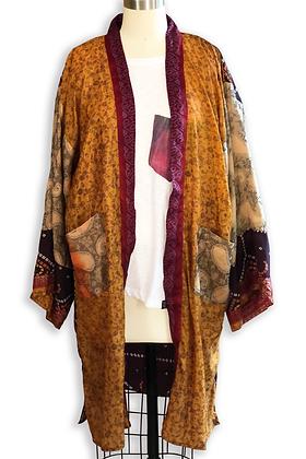 Lychee Silk Road Sari-Kimono
