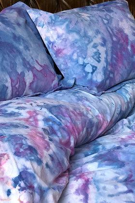 Hydrangea Queen Duvet Cover Set