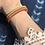 Thumbnail: Multicolor Skinny Beaded Cuff