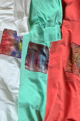 Onward Matcha Silk Pocket Long Sleeve