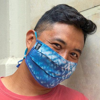 Aegean Moonlight Silk Mask