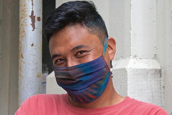 Aurora Borealis Silk Mask