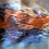 Thumbnail: Blue Mountain Stream Silk Charmeuse Scarf