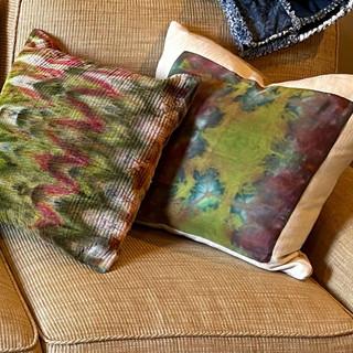 Kathy's Sun Room Pillows