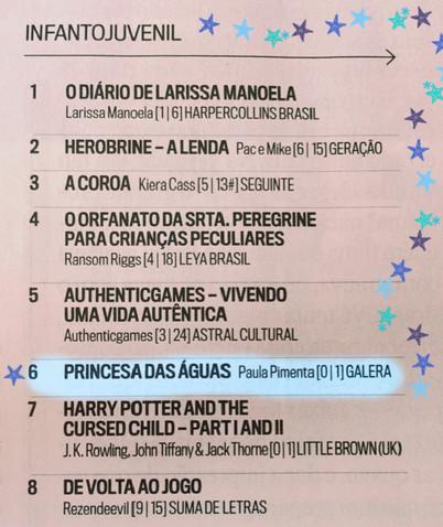 Princesa das Águas na lista da Veja