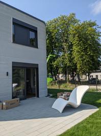Möblierung im 3D Betonhaus
