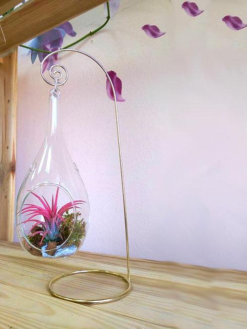 Подвесной флорариум-капля