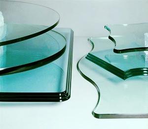 CNC Cut & Polished Glass