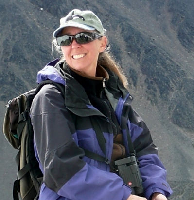 Marylou Blakeslee out hiking
