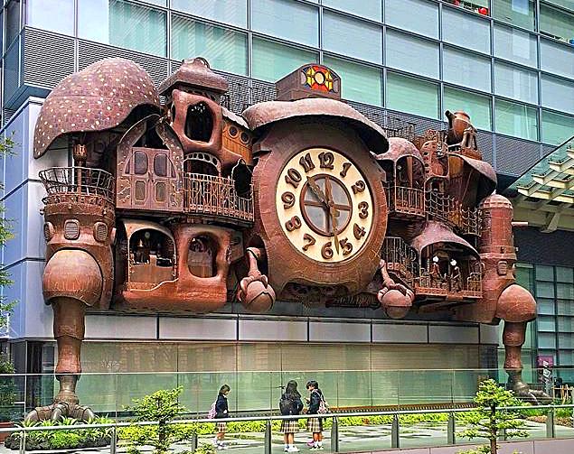 Ghibli Steampunk Clock